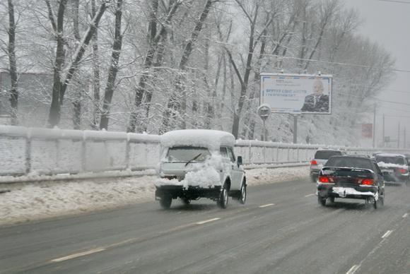 Киев зимой. Фото.
