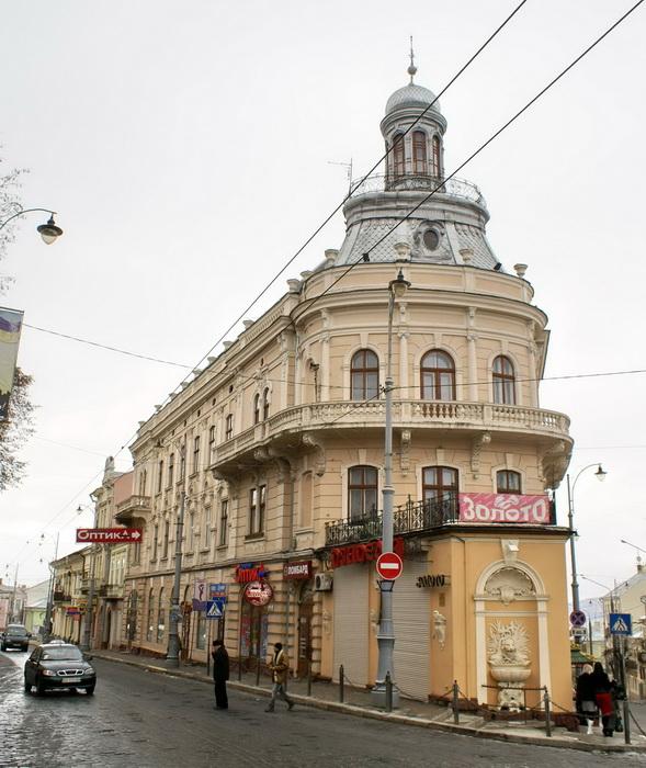 Черновцы дом-корабль фото