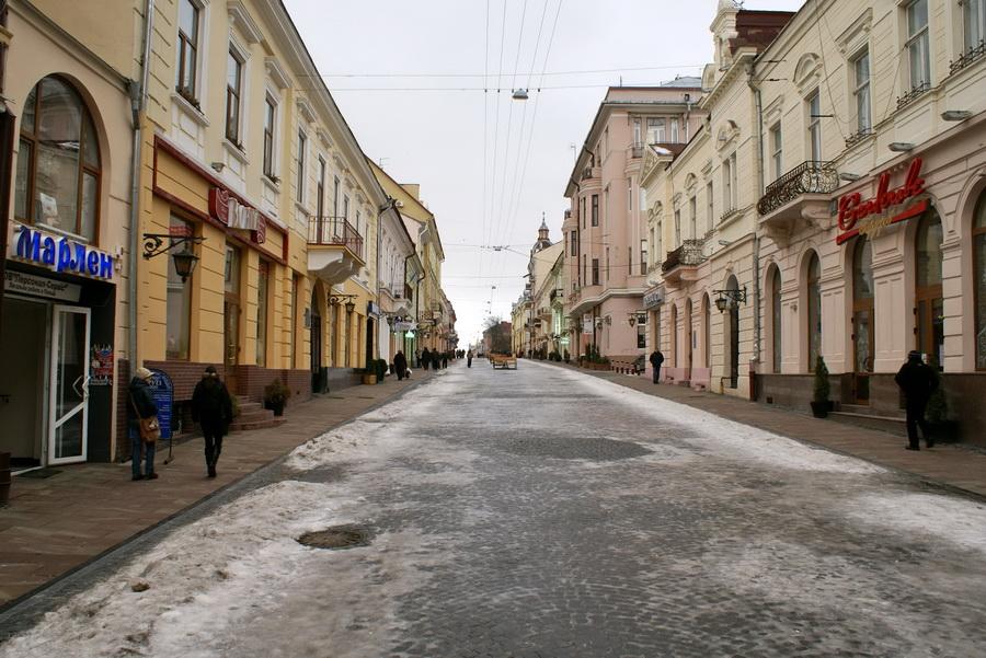 Черновцы достопримечательности улица Кобылянской