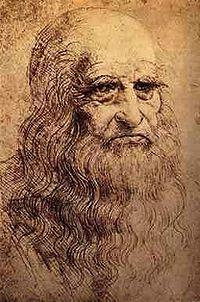 Предположительный автопортрет Леонардо да Винчи