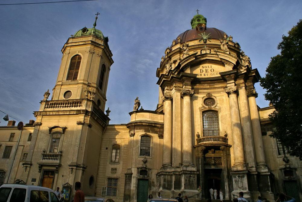 Львов. Доминиканский собор и монастырь. Фото