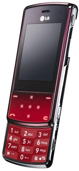LG KF510 red