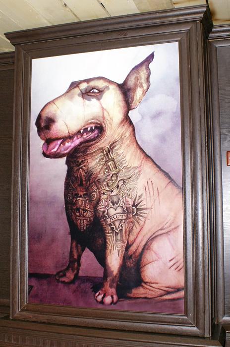 Обзор заведений. Киев, Пит Буль (Pit Bull), балканский паб, сеть Любовь и Голод