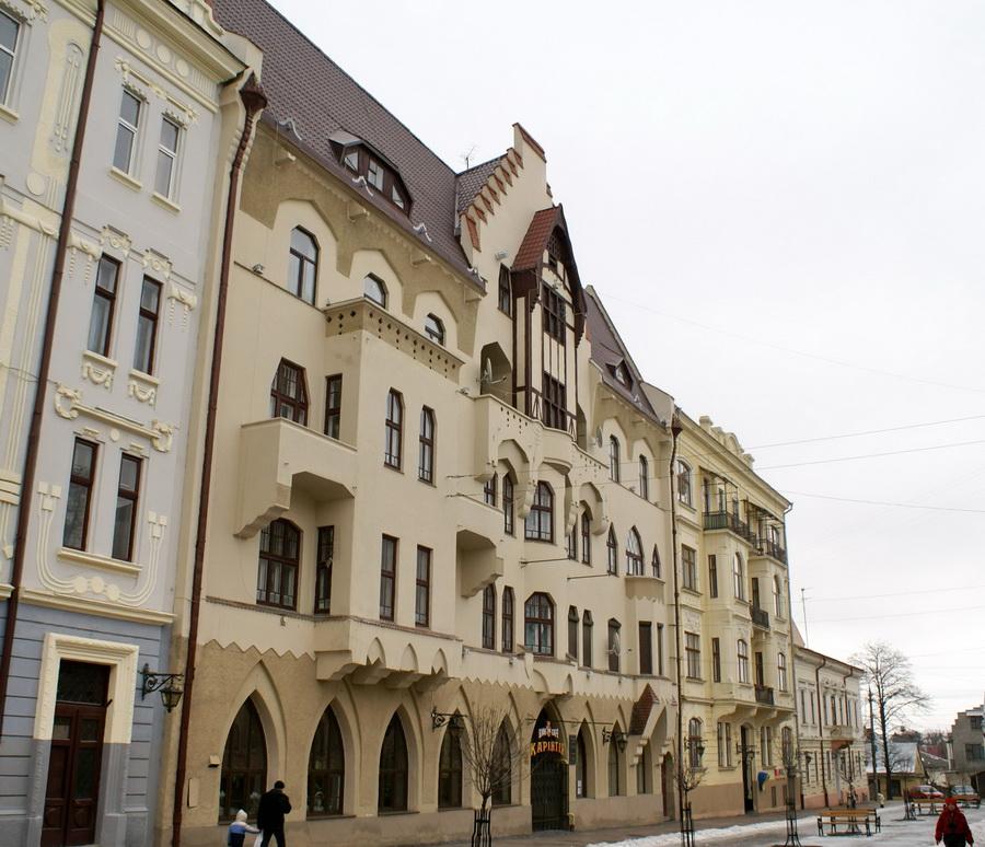 Черновцы достопримечательности на Кобылянской Немецкий дом