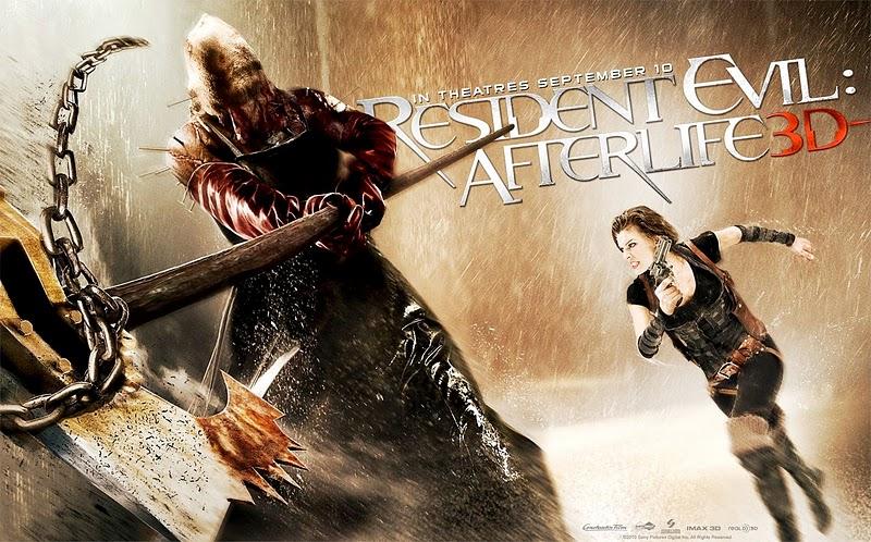 Обитель зла 4 Жизнь после смерти 3D Resident Evil: Afterlife